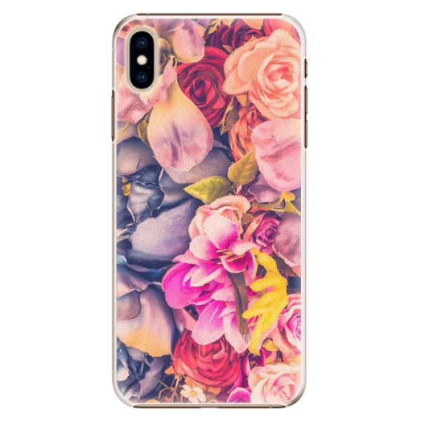 Plastové pouzdro iSaprio - Beauty Flowers - iPhone XS Max