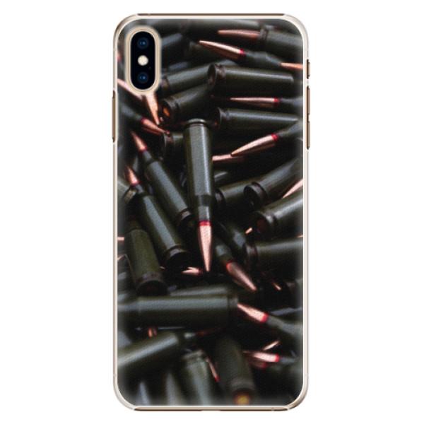 Plastové pouzdro iSaprio - Black Bullet - iPhone XS Max
