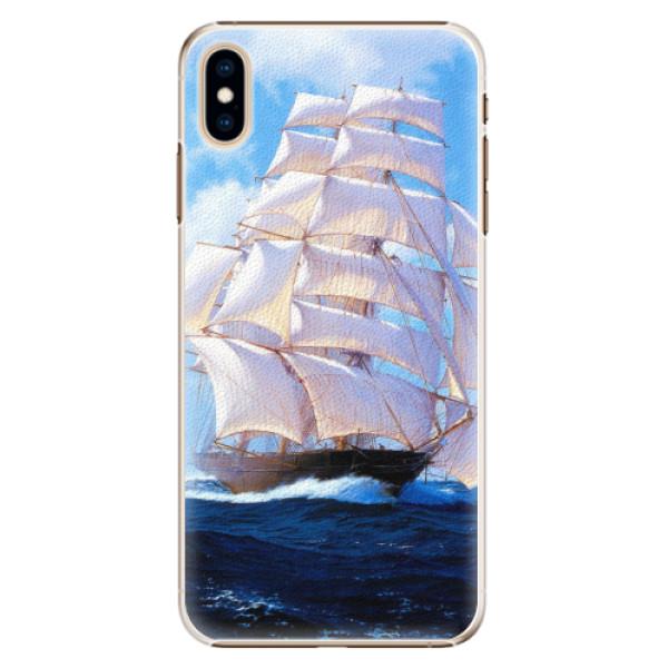 Plastové pouzdro iSaprio - Sailing Boat - iPhone XS Max