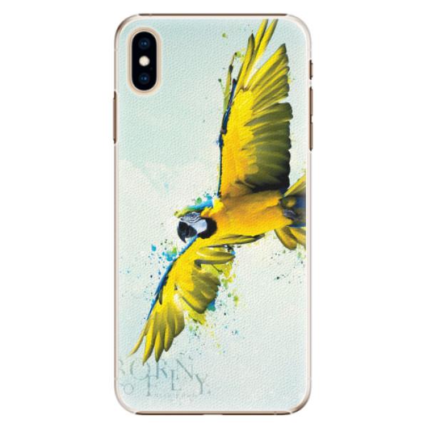 Plastové pouzdro iSaprio - Born to Fly - iPhone XS Max