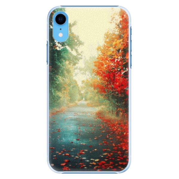 Plastové pouzdro iSaprio - Autumn 03 - iPhone XR