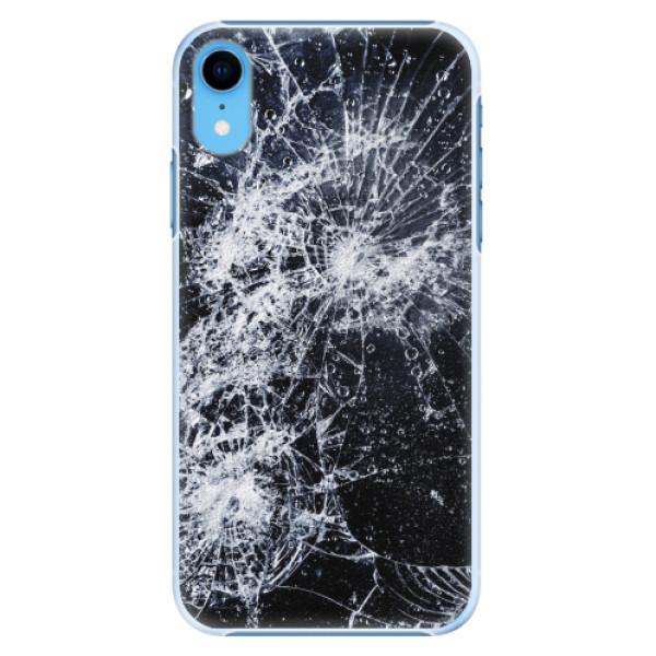 Plastové pouzdro iSaprio - Cracked - iPhone XR