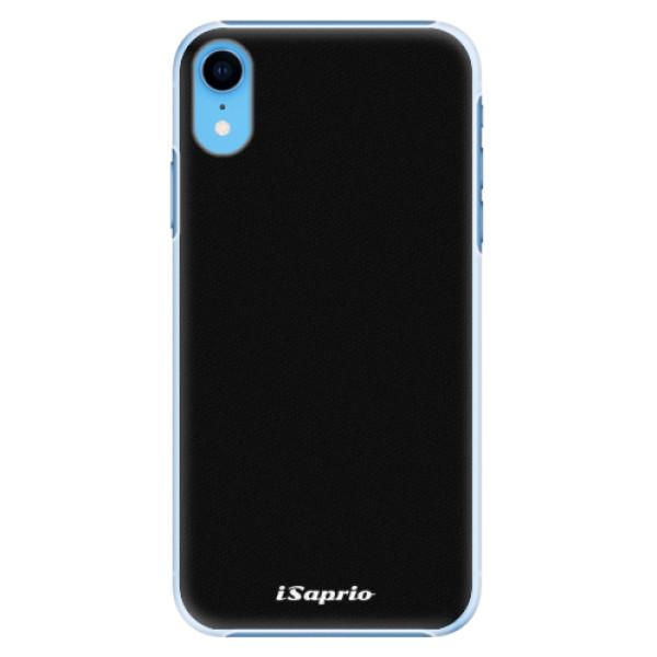 Plastové pouzdro iSaprio - 4Pure - černý - iPhone XR