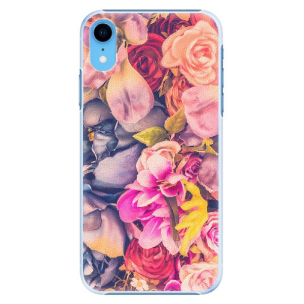 Plastové pouzdro iSaprio - Beauty Flowers - iPhone XR
