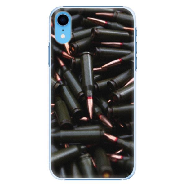 Plastové pouzdro iSaprio - Black Bullet - iPhone XR