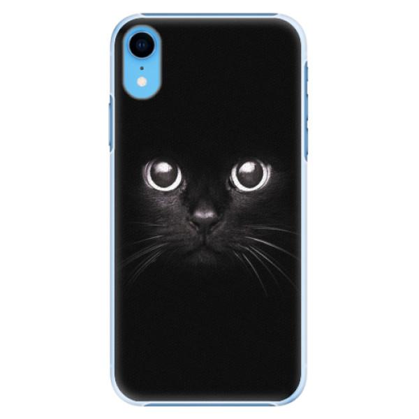 Plastové pouzdro iSaprio - Black Cat - iPhone XR