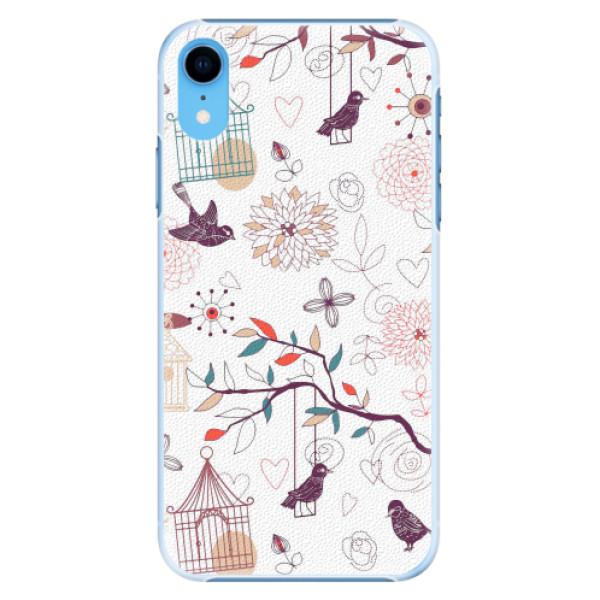 Plastové pouzdro iSaprio - Birds - iPhone XR