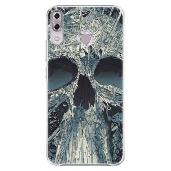 Plastové pouzdro iSaprio - Abstract Skull - Asus ZenFone 5Z ZS620KL