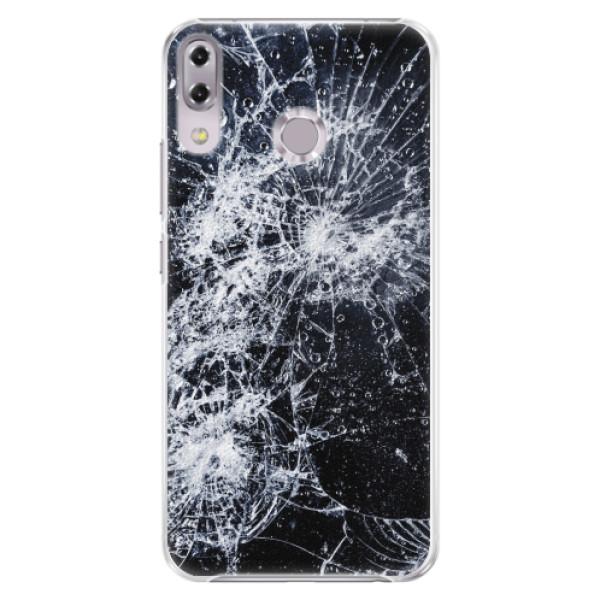 Plastové pouzdro iSaprio - Cracked - Asus ZenFone 5Z ZS620KL