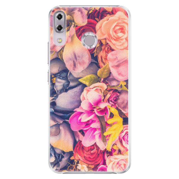 Plastové pouzdro iSaprio - Beauty Flowers - Asus ZenFone 5Z ZS620KL