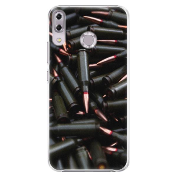 Plastové pouzdro iSaprio - Black Bullet - Asus ZenFone 5Z ZS620KL