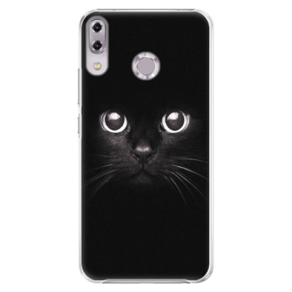 Plastové pouzdro iSaprio - Black Cat - Asus ZenFone 5Z ZS620KL