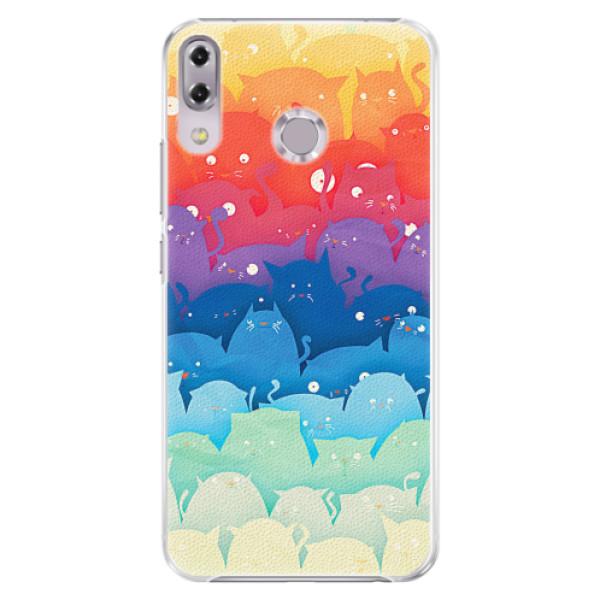 Plastové pouzdro iSaprio - Cats World - Asus ZenFone 5Z ZS620KL