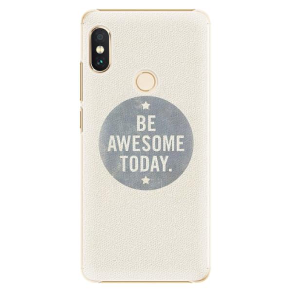 Plastové pouzdro iSaprio - Awesome 02 - Xiaomi Redmi Note 5