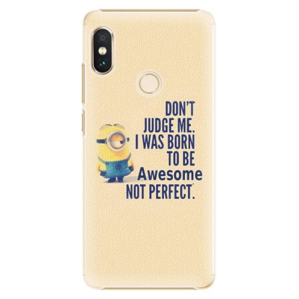Plastové pouzdro iSaprio - Be Awesome - Xiaomi Redmi Note 5