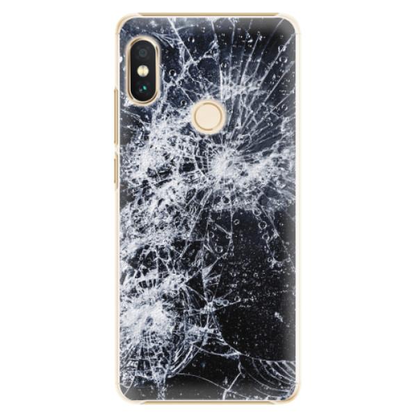 Plastové pouzdro iSaprio - Cracked - Xiaomi Redmi Note 5