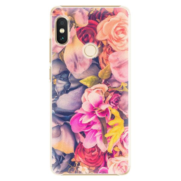 Plastové pouzdro iSaprio - Beauty Flowers - Xiaomi Redmi Note 5