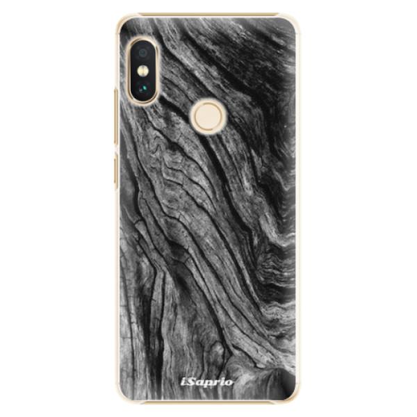Plastové pouzdro iSaprio - Burned Wood - Xiaomi Redmi Note 5