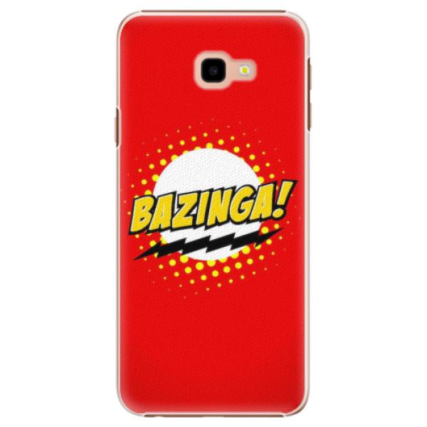 Plastové pouzdro iSaprio - Bazinga 01 - Samsung Galaxy J4+