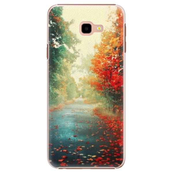 Plastové pouzdro iSaprio - Autumn 03 - Samsung Galaxy J4+
