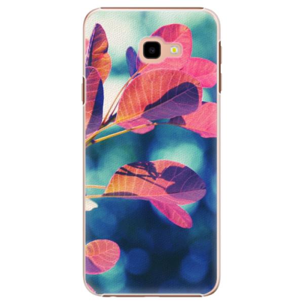 Plastové pouzdro iSaprio - Autumn 01 - Samsung Galaxy J4+