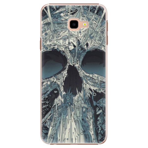 Plastové pouzdro iSaprio - Abstract Skull - Samsung Galaxy J4+