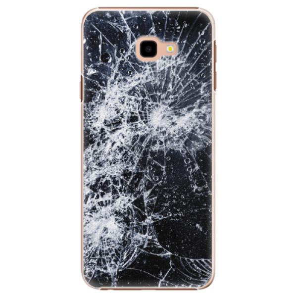 Plastové pouzdro iSaprio - Cracked - Samsung Galaxy J4+