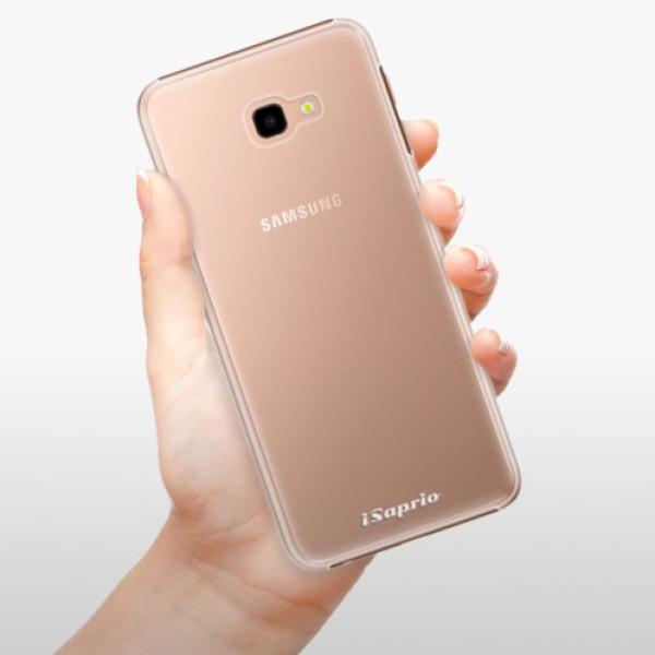 Plastové pouzdro iSaprio - 4Pure - mléčný bez potisku - Samsung Galaxy J4+
