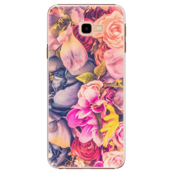 Plastové pouzdro iSaprio - Beauty Flowers - Samsung Galaxy J4+