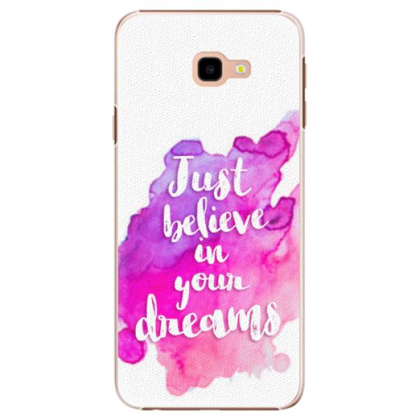 Plastové pouzdro iSaprio - Believe - Samsung Galaxy J4+