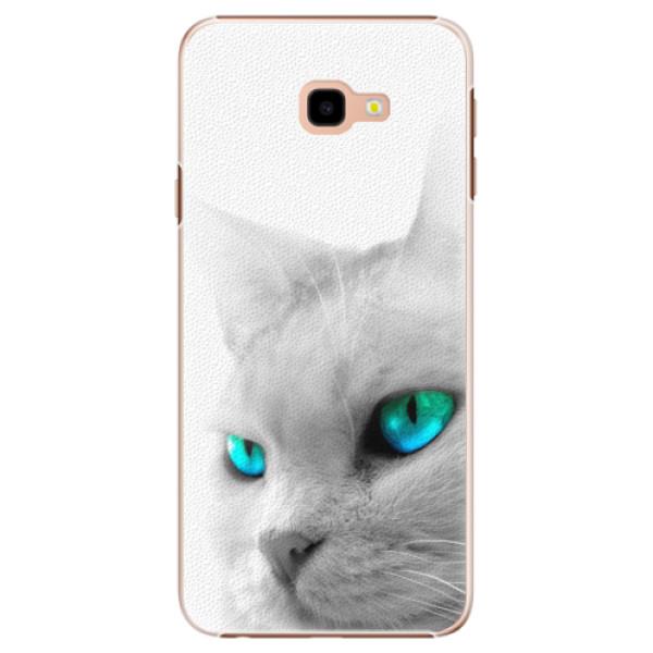 Plastové pouzdro iSaprio - Cats Eyes - Samsung Galaxy J4+