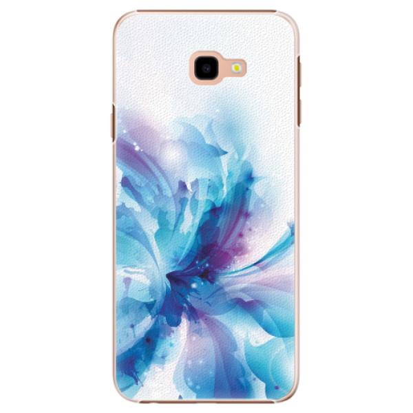 Plastové pouzdro iSaprio - Abstract Flower - Samsung Galaxy J4+
