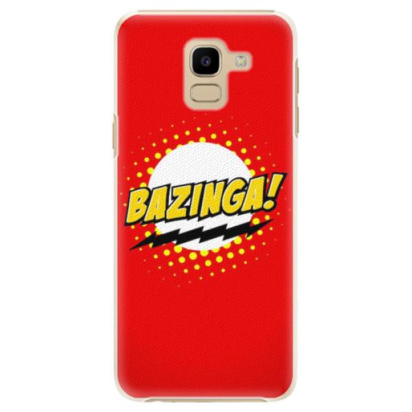 Plastové pouzdro iSaprio - Bazinga 01 - Samsung Galaxy J6