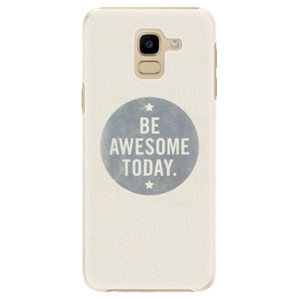Plastové pouzdro iSaprio - Awesome 02 - Samsung Galaxy J6