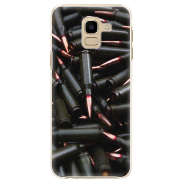 Plastové pouzdro iSaprio - Black Bullet - Samsung Galaxy J6