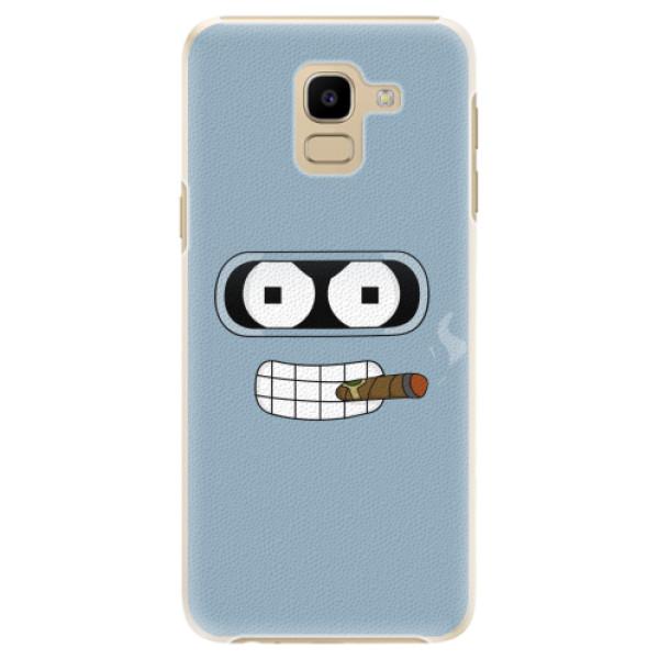 Plastové pouzdro iSaprio - Bender - Samsung Galaxy J6