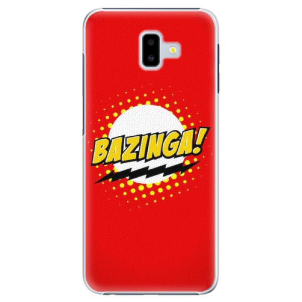Plastové pouzdro iSaprio - Bazinga 01 - Samsung Galaxy J6+