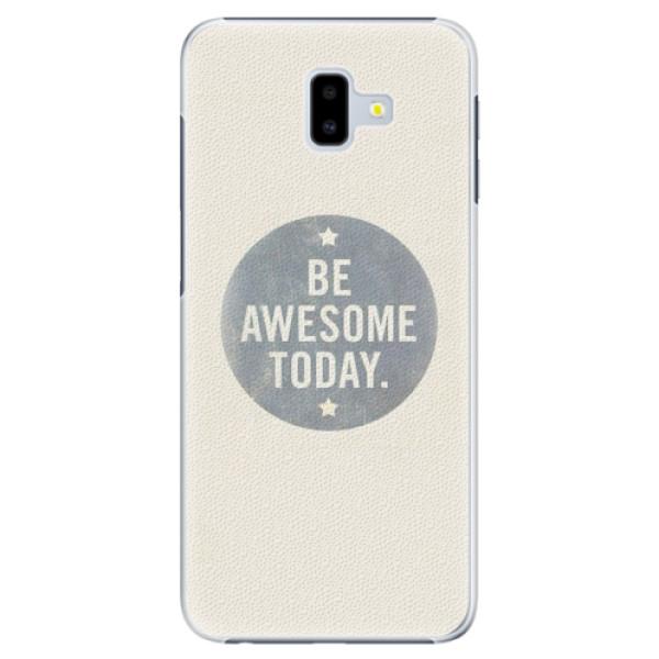 Plastové pouzdro iSaprio - Awesome 02 - Samsung Galaxy J6+