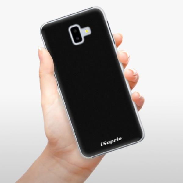 Plastové pouzdro iSaprio - 4Pure - černý - Samsung Galaxy J6+