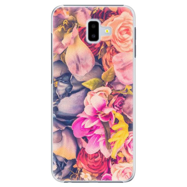 Plastové pouzdro iSaprio - Beauty Flowers - Samsung Galaxy J6+