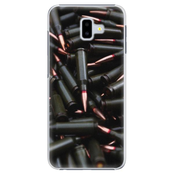 Plastové pouzdro iSaprio - Black Bullet - Samsung Galaxy J6+