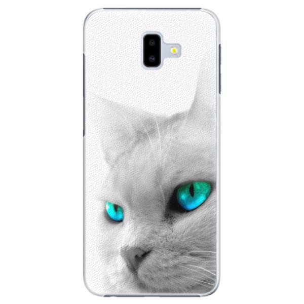 Plastové pouzdro iSaprio - Cats Eyes - Samsung Galaxy J6+