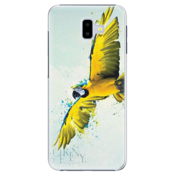 Plastové pouzdro iSaprio - Born to Fly - Samsung Galaxy J6+
