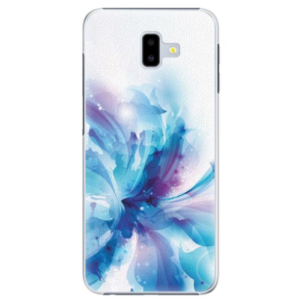 Plastové pouzdro iSaprio - Abstract Flower - Samsung Galaxy J6+
