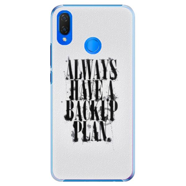 Plastové pouzdro iSaprio - Backup Plan - Huawei Nova 3i