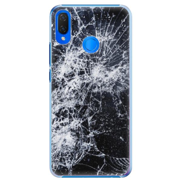 Plastové pouzdro iSaprio - Cracked - Huawei Nova 3i