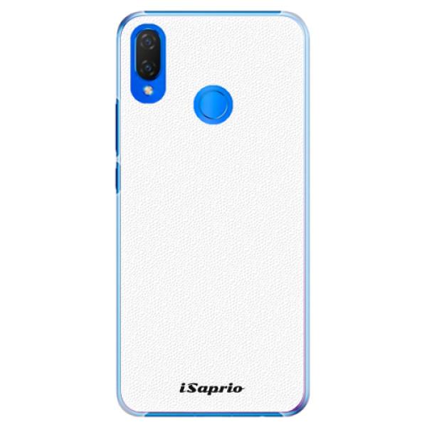 Plastové pouzdro iSaprio - 4Pure - bílý - Huawei Nova 3i
