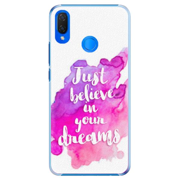 Plastové pouzdro iSaprio - Believe - Huawei Nova 3i