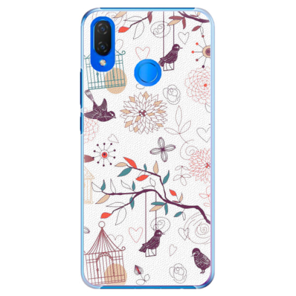 Plastové pouzdro iSaprio - Birds - Huawei Nova 3i