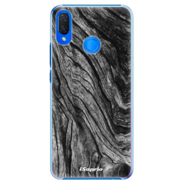 Plastové pouzdro iSaprio - Burned Wood - Huawei Nova 3i